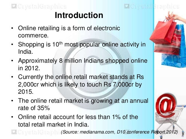 Objectives of online shopping website