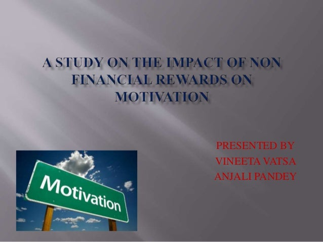 The Importance of Non-financial Rewards for the Organization