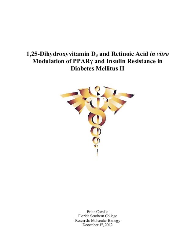 phd thesis on diabetes mellitus