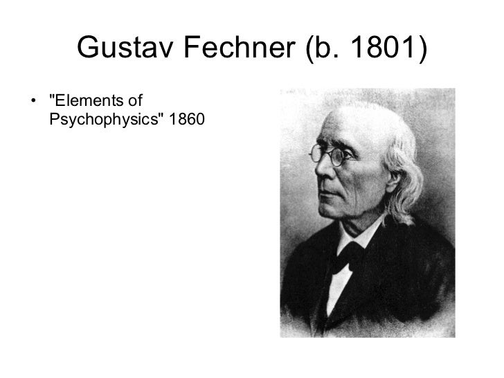 fechners elements of psychophysics Edition introduction sixth sociology vs psychology 12/26/2017 0 comments psychology wikipedia psychology is the science of behavior and mind, embracing all.