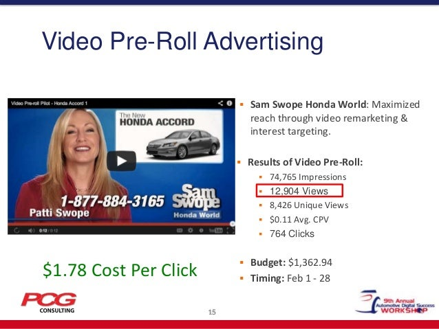 Sam Swope Honda >> Brian Pasch - Kain Automotive Conference 2013