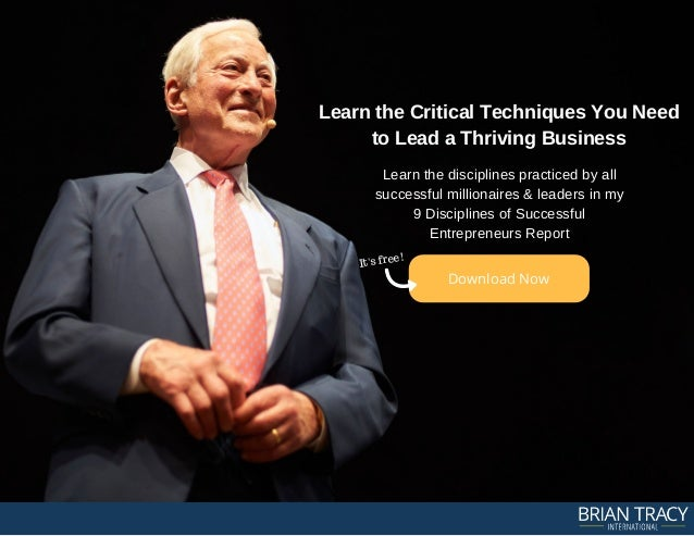20 Brian Tracy Leadership Quotes For Inspiration Success