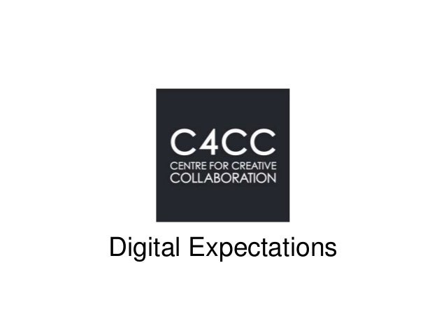 Digital Expectations