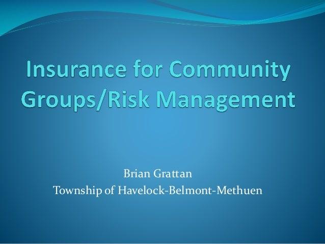 Brian Grattan Township of Havelock-Belmont-Methuen