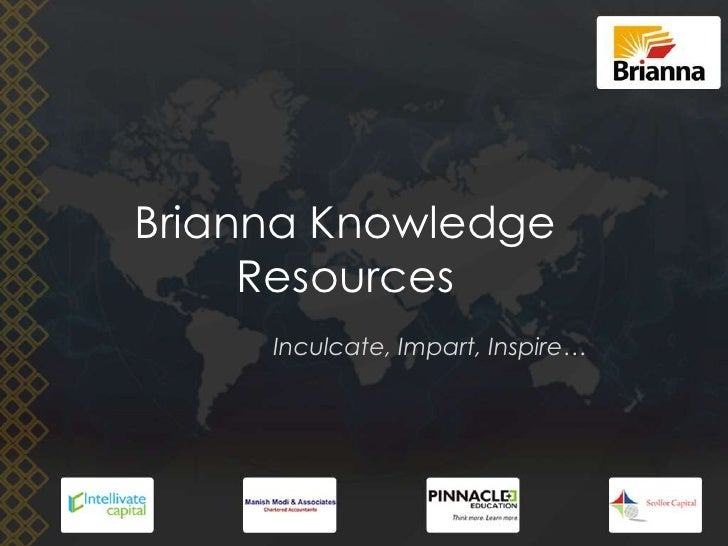 Brianna Knowledge Resources <br />Inculcate, Impart, Inspire…<br />