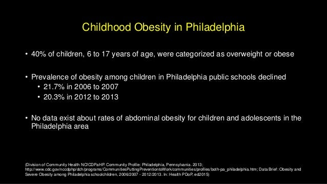 good thesis statement childhood obesity