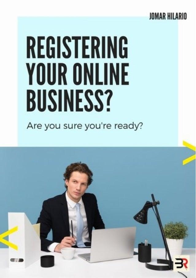 Recap carousel: Registering Online Business
