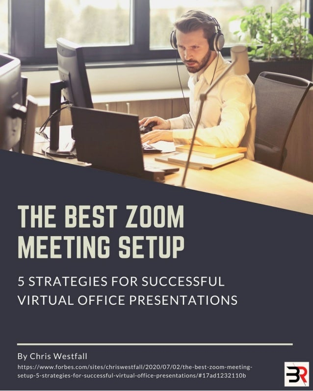 Recap Carousel: The Best Zoom Meeting Setup