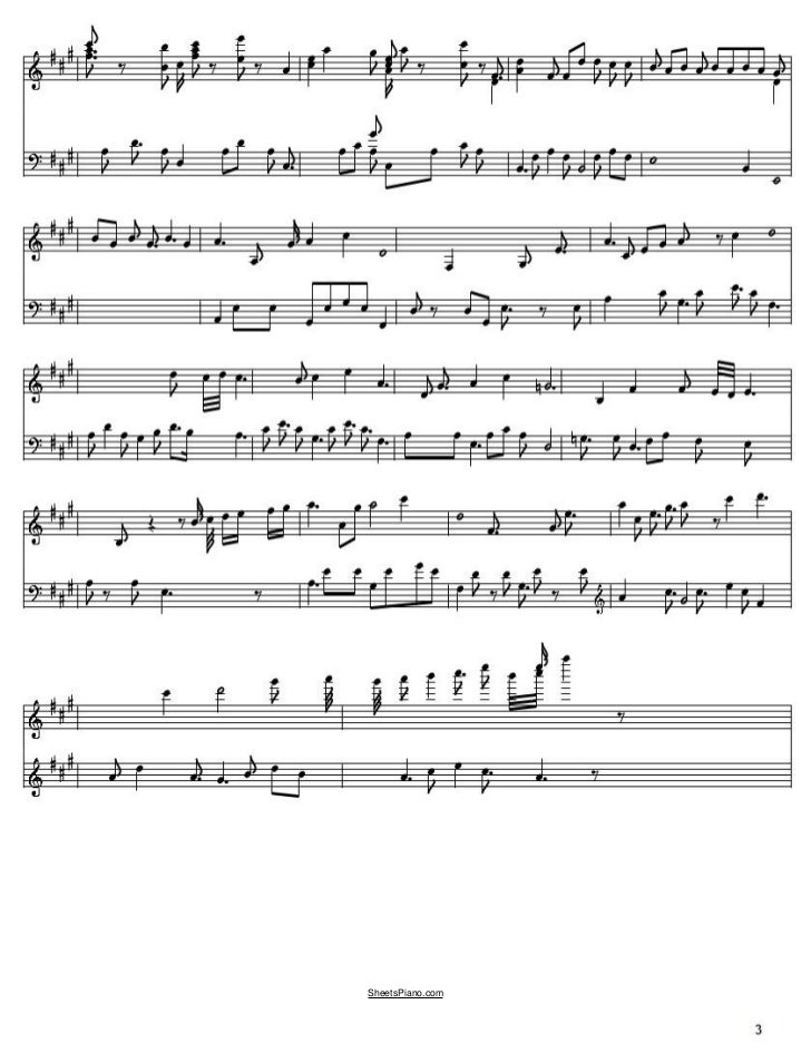 Piano piano music sheets for beginners : Brian's Song free piano music sheets