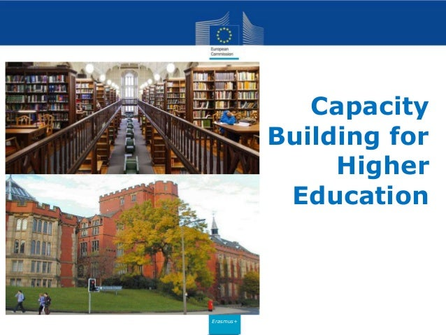 Erasmus+ Capacity Building for Higher Education