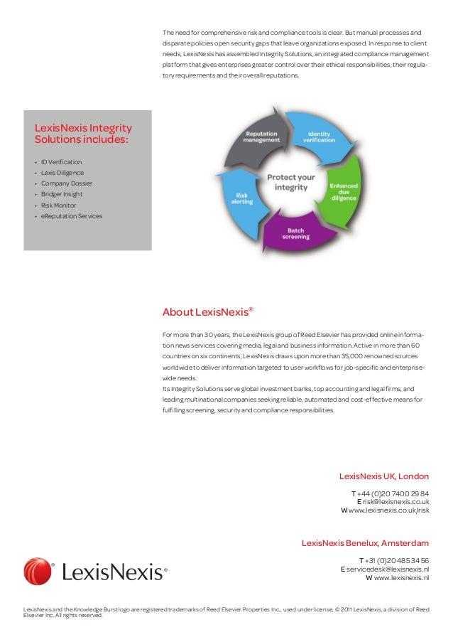 lexisnexis bridger insight user manual