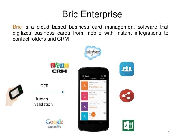 Bric app business card scanner manager reheart Choice Image