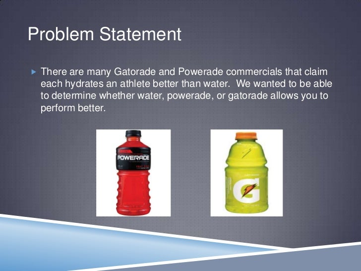 Drinking Gatorade vs. Drinking Water During Sports Games