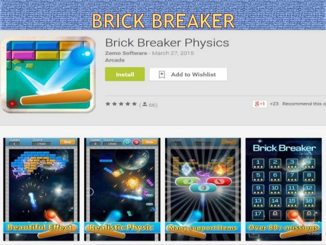 Brick Breaker Physics - A new smashing out, arkanoid style game with standard classic mode and new physic mode, smashing ...