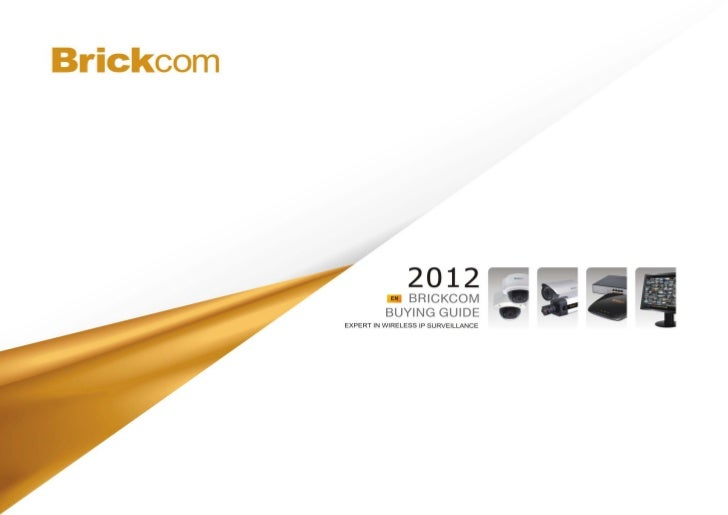 Brickcom  Buying Guide 2012 Info Tech Middle East