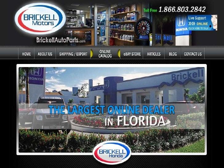 Brickell Auto Parts in Miami Florida OEM Dealer