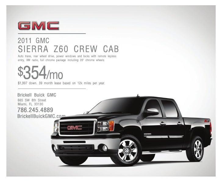 2 011 G M C S I E R R A    your biggest challenges call for a truck                                                       ...