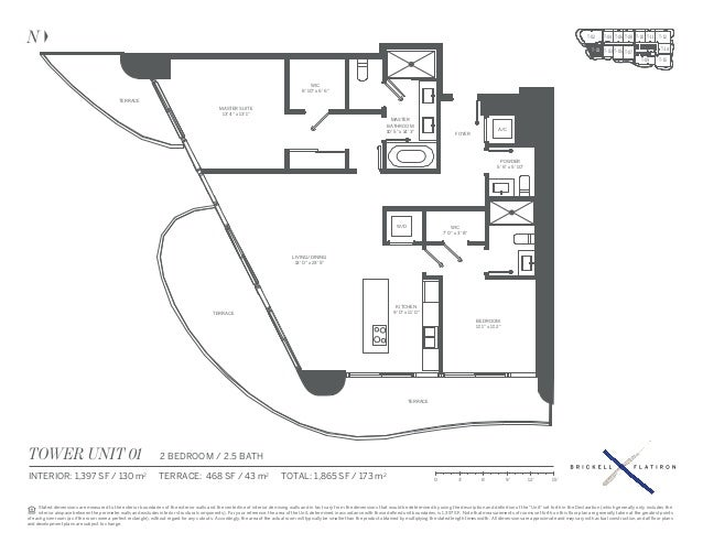 Brickell Flatiron Condo Floor Plans