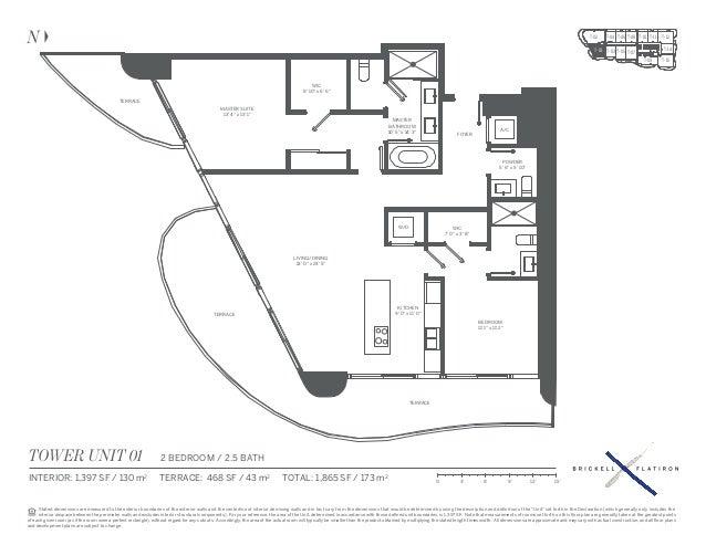Brickell Flatiron Condo Floor Plans