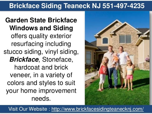 Brickface Siding Teaneck NJ 551 497 4235 Garden State Brickface Windows And  Siding Offers ...
