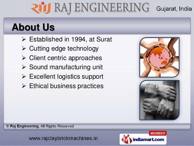 Brick Machines By Raj Engineering, Gujarat Slide 2
