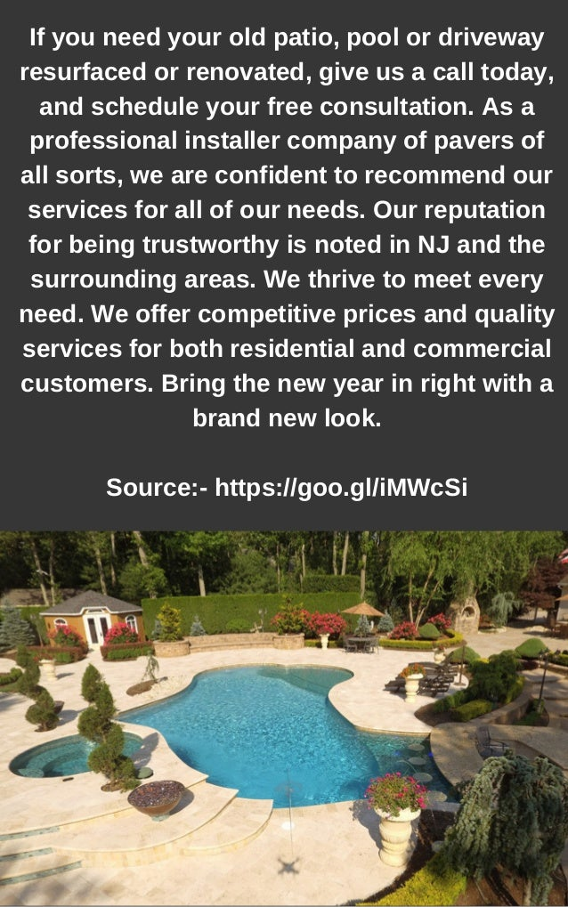 Inground Pool Contractors Nj