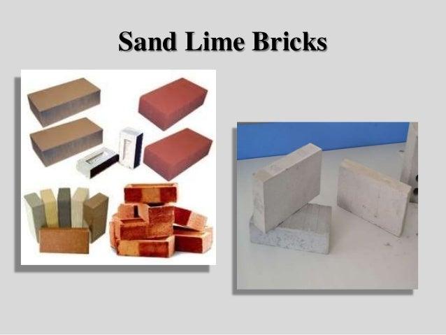 Sand Lime Bricks : Bricks