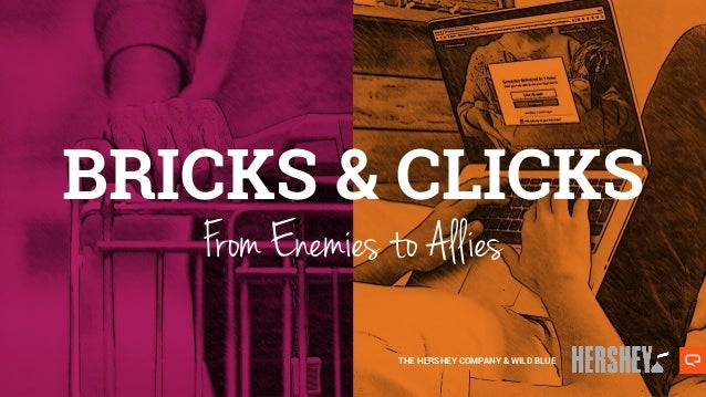 From Enemies to Allies THE HERSHEY COMPANY & WILD BLUE BRICKS & CLICKS
