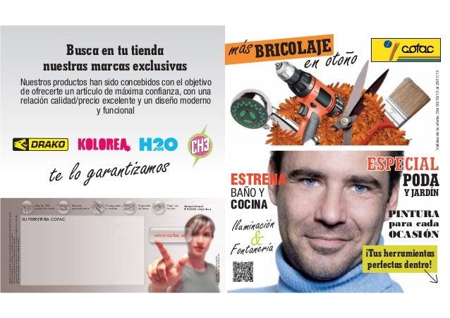 ESPECIAL PODA Y JARDÍN ESTRENA Validezdelaoferta:Del03/10/13al26/11/13 PINTURA para cada OCASIÓN ¡Tus herramientas perfect...