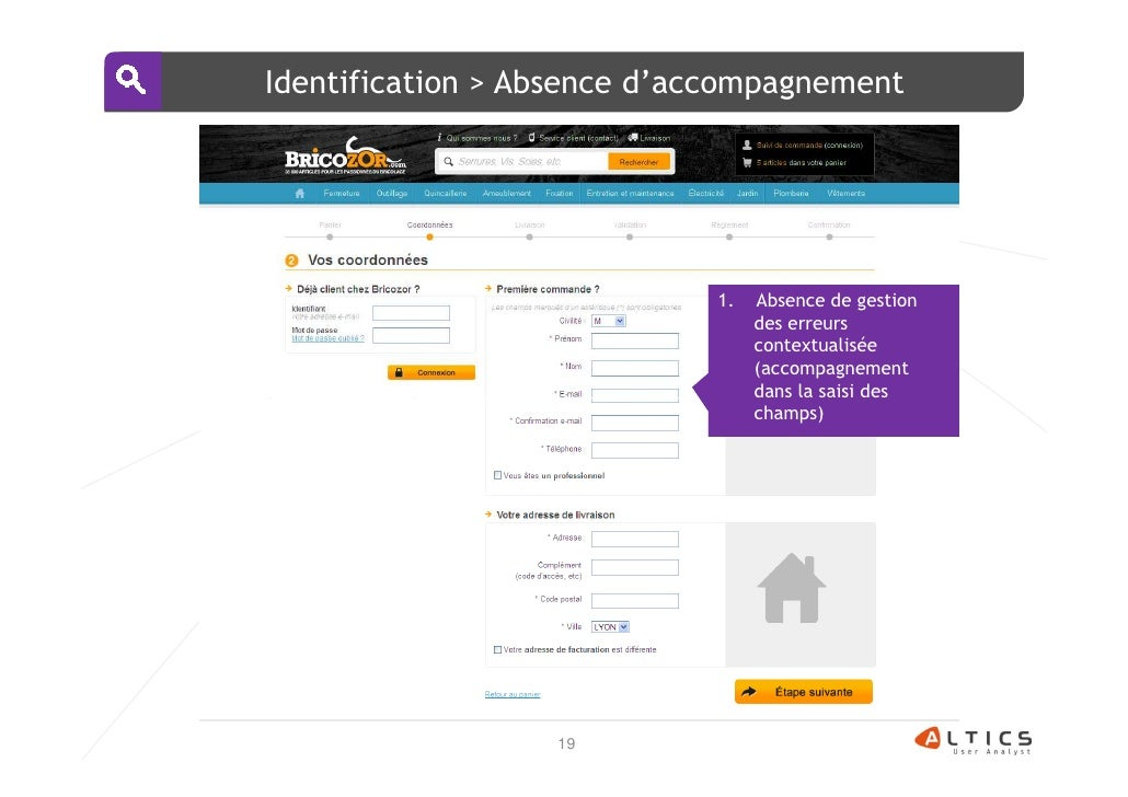 Identification > Absence d'accompagnement                             1.   Absence de gestion                             ...