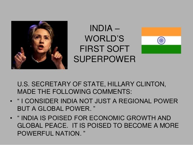 is india a soft nation