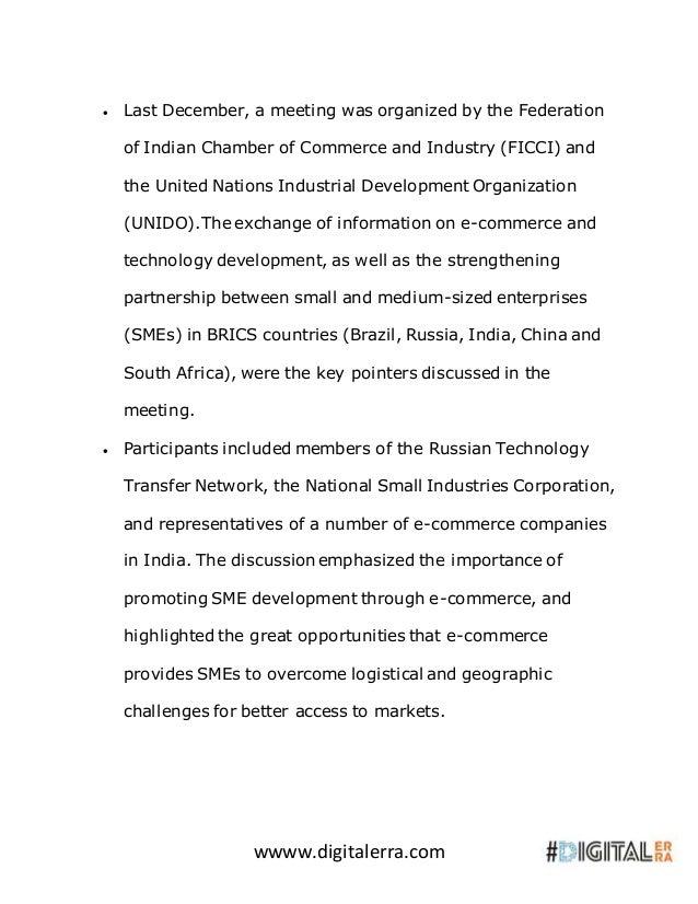 Brics nations call for ease of e commerce facilitation Slide 3
