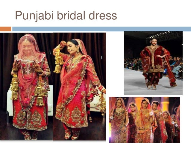 Bridal attire in different parts of india