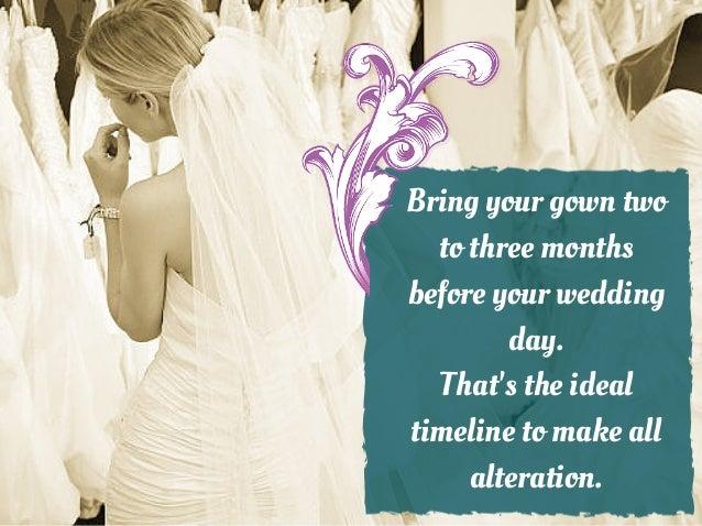 Bridal Dress Alteration Tips