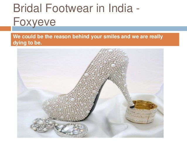 Buy bridal shoes online India
