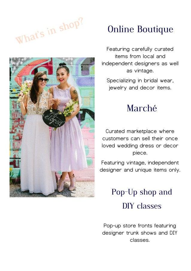 Bridal Marché lookbook