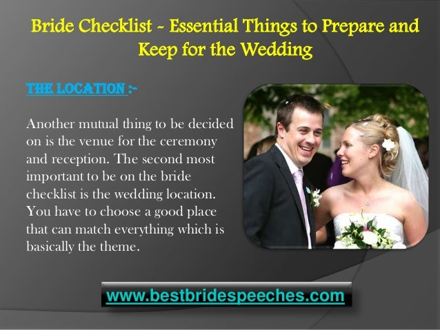 Essential Things To Prepare And Keep For