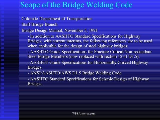 Welder Qualification D vs D - AWS (welding) Code Issues - Eng-Tips