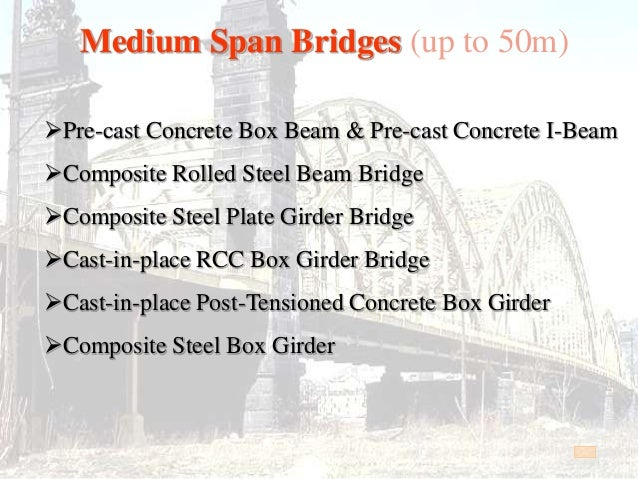 Cast In Place Joint : Bridge introduction
