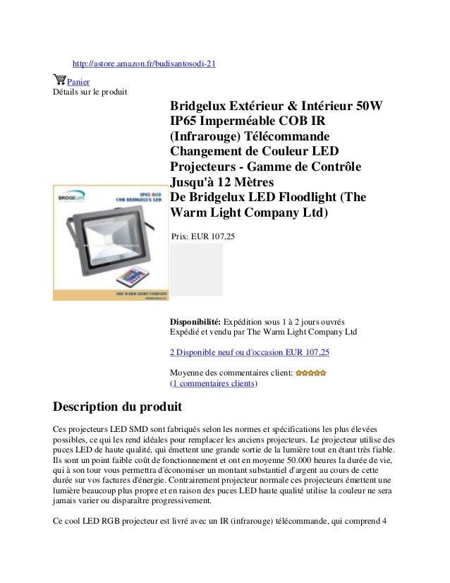 http://astore.amazon.fr/budisantosodi-21PanierDétails sur le produitBridgelux Extérieur & Intérieur 50WIP65 Imperméable CO...