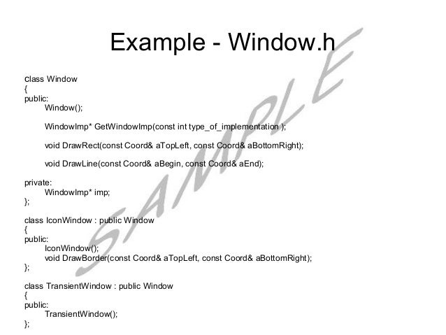 what is a void pattern how might a void pattern be useful to investigators Pointers to c++ member functions  void foo( int anint, double adouble ) void bar()  one reason might be that the loop and the decision are in code that belongs to different classes, and you do not want to expose the implementation of the class that makes the decision.