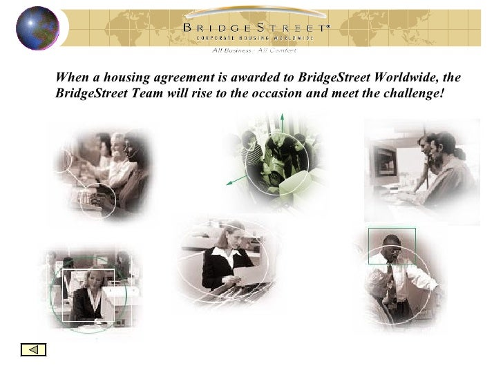 Bridgestreet Worldwide Corporatetemporary Housing