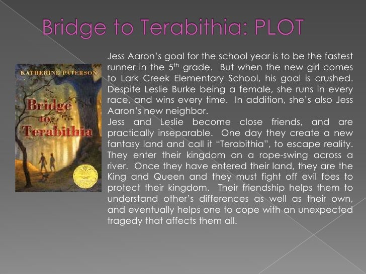 What is the conclusion of Bridge to Terabithia?