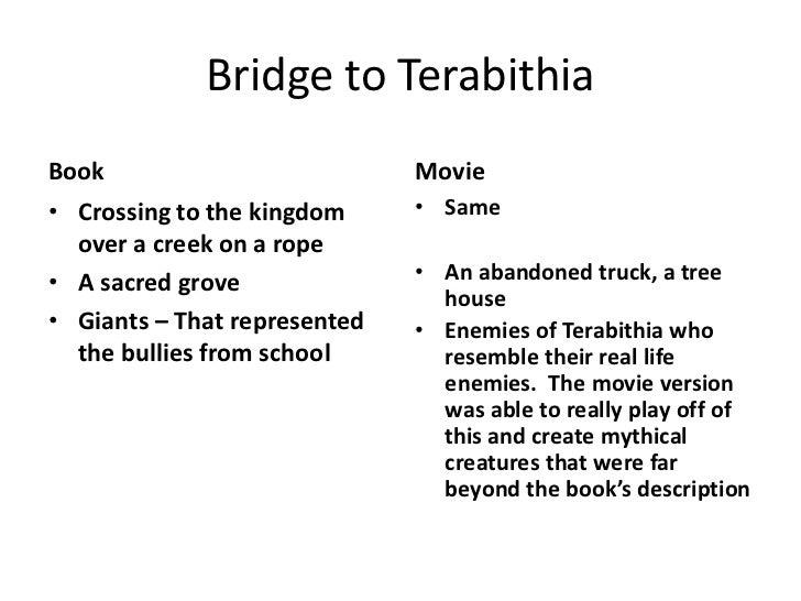 Bridge to teribithia
