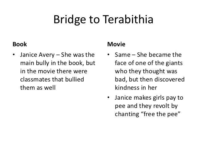 Persuasive essay bridge to terabithia characters