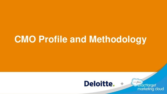 CMO Profile and Methodology