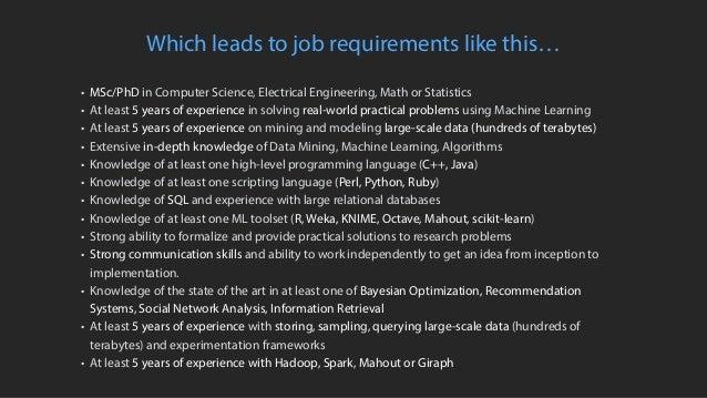 Bridging the Gap Between Data Science & Engineer: Building High-Performance Teams Slide 7