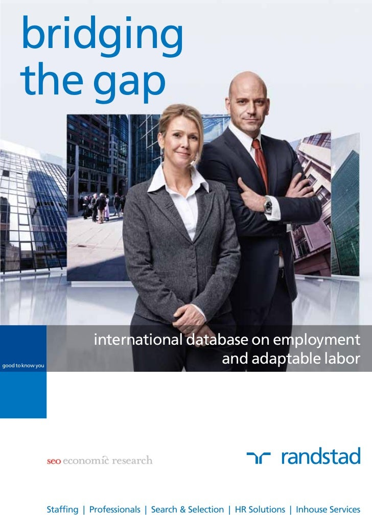 bridgingthe gap   international database on employment                      and adaptable labor