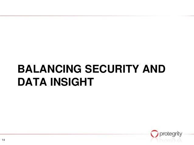 Bridging the gap between privacy and big data Ulf Mattsson