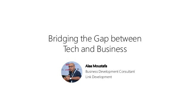 The gap between developed and developing